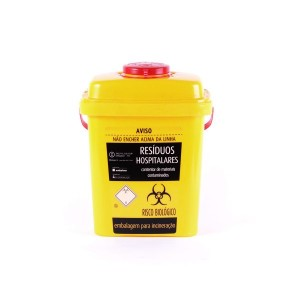 Toxic Waste Container 3L