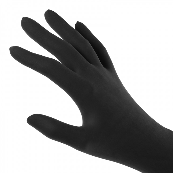 Latex-Gloves-Black